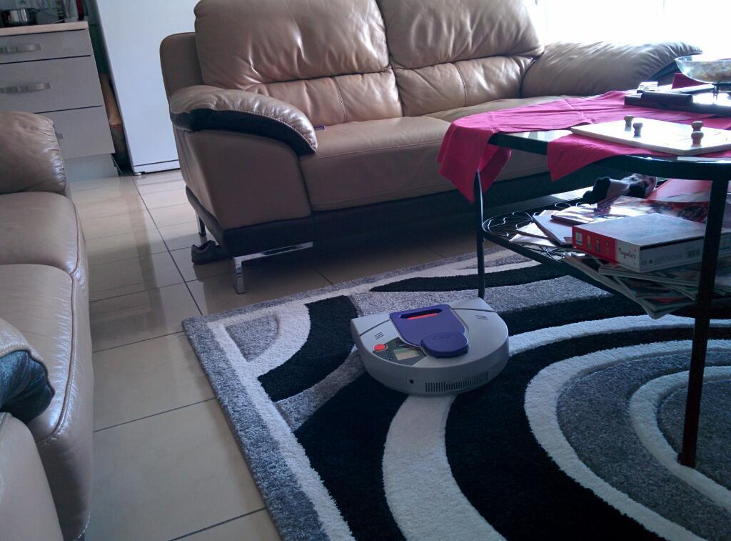 mettre tapis devant tv